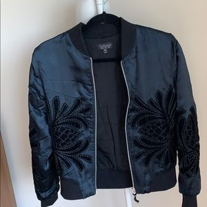super cool tops hop bomber jacket